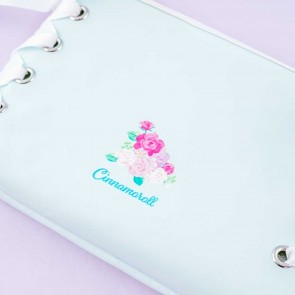 Cinnamoroll Lolita Lace-Up Cosmetic Pouch