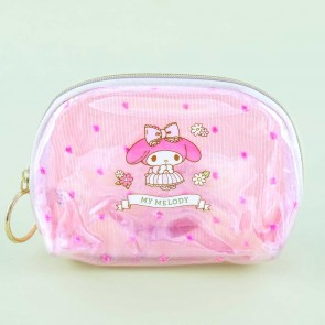 My Melody Flower Princess Clear Pouch