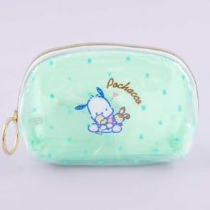 Pochacco Ice Cream Shell-Shaped Cosmetic Pouch