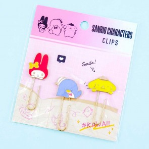 Sanrio Characters Smile Clips Set
