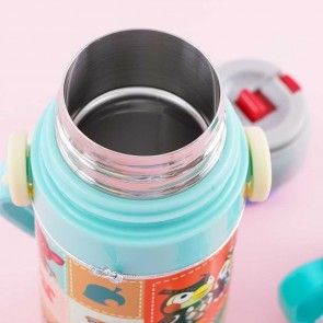 Animal Crossing Two-Way Stainless Steel Bottle