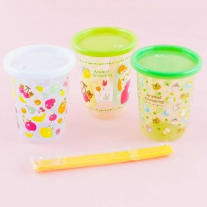 Animal Crossing Tumbler With Straw Set