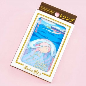 Ponyo On The Cliff Playing Cards