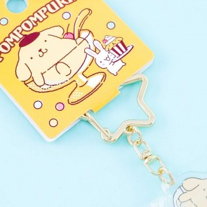 Pompompurin Dessert Party Charm With Star Clip
