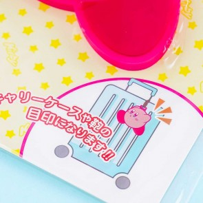 Kirby Running Rubber Name Tag