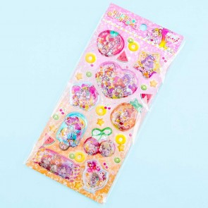Tropical-Rouge! PreCure Glittery Water Seal Stickers