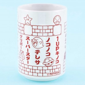 Super Mario Punch Japanese Teacup