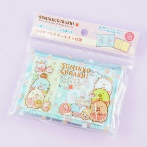 Sumikko Gurashi Strawberry Fair Sticky Notes With Pouch