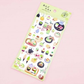 Cafe Seal Japanese Pastry Stickers