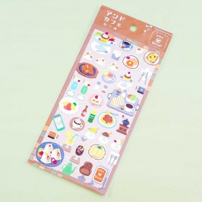 Cafe Seal Pasta & Pastry Stickers