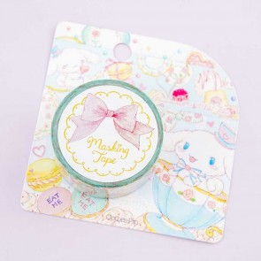 Cinnamoroll Mad Hatter Tea Party x Takei Miki Paper Masking Tape