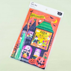 Halloween Ghost House Candy Bag - 4 pcs