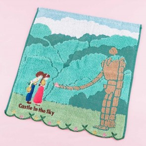 Castle In The Sky Forest Mini Towel