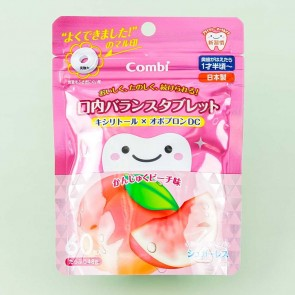 Combi Teteo Oral Balance Tablet Candy - Peach
