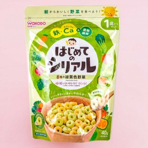 Wakodo First Cereal Baby Puffs - Vegetables