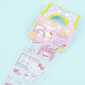 Sanrio Characters Doctor Glittery Tape Sticker