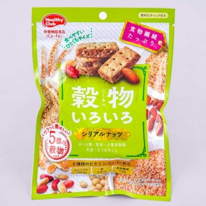 Hamada Various Grains Cereal Cookie Bars - Nuts