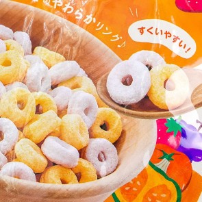 Wakodo First Cereal Baby Puffs - Vegetables & Fruits