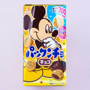 Disney Characters Pakkuncho Chocolate-Filled Biscuits