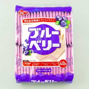 Healthy Club Wafers - Blueberry