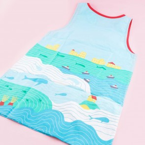 Ponyo on the Cliff by the Sea Apron