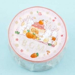 BGM Masking Tape - Bunny Party