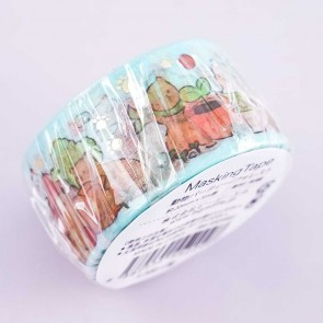 BGM Masking Tape - Animal Party Forest