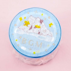 BGM Masking Tape -  Starry Cats