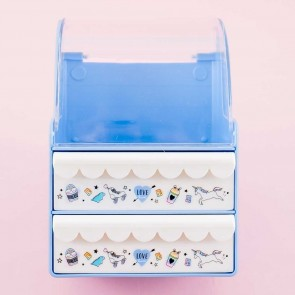Blue Style Jewelry Chest