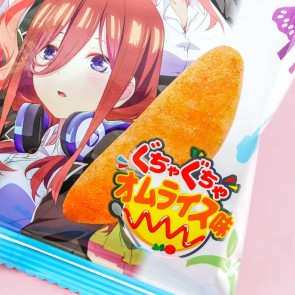 Befco Kuriyama The Quintessential Quintuplets Rice Crackers - Omurice