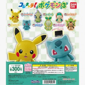 Pokémon Collechara 3 in Gachapon Capsule