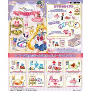 Re-Ment Sailor Moon Crystal Cafe Sweets