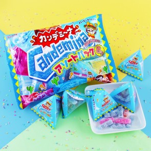 Kanro Candemina Gummies - Soda Mix