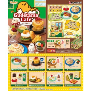 Re-Ment Gudetama Café Blind Box